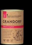 Grandorf консервы для собак Говядина с Индейкой