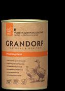 Grandorf консервы для собак Гусь с Индейкой