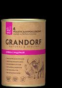Grandorf консервы для собак Буйвол с Индейкой