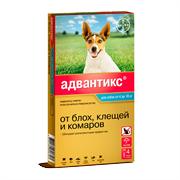 Адвантикс 100. Капли для собак 4-10кг 1мл №4