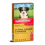 Адвантикс 250. Капли для собак 10-25кг 2,5мл №4