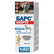 БАРС Форте Спрей инсектоакарицидный д/собак,100мл