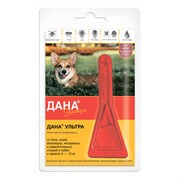Дана Ультра капли на холку (для собак и щенков 5-10 кг), 0,8мл