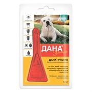 Дана Ультра капли на холку (для собак и щенков более 20 кг), 3,2мл