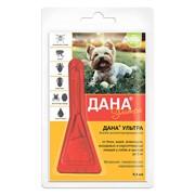 Дана Ультра капли на холку (для собак и щенков до 5 кг), 0,4мл