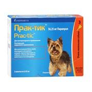 Прак-тик Капли для собак  2-4,5кг 0,45мл №3