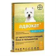 Адвокат 100 Капли для собак 4-10кг 1мл №3