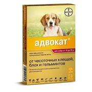 Адвокат 250 Капли для собак 10-25кг 2,5мл №3