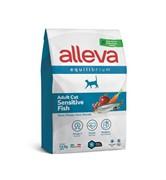 Alleva Equilibrium Cat сухой корм для взрослых кошек с рыбой