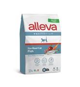 Alleva Equilibrium Cat сухой корм для кастрированных котов и стерилизованных кошек с рыбой