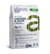 Alleva Holistic Cat Neutered с курицей и уткой для стерилизованых кошек