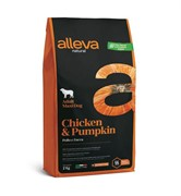Alleva Natural Adult Chicken & Pumpkin Maxi сухой корм для взрослых собак с курицей и тыквой