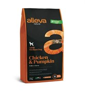 Alleva Natural Adult Chicken & Pumpkin Medium с курицей и тыквой для собак средних пород