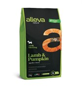 Alleva Natural Adult Lamb & Pumpkin с ягненком и тыквой для собак миниатюрных пород