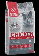 BLITZ  ADULT CATS CHICKEN корм для кошек с Курицей 10 кг