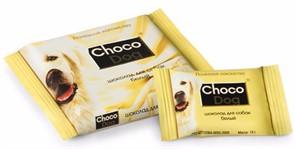 CHOCO DOG лакомство для собак белый шоколад 15 г