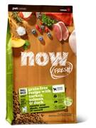 Now Natural Holistic Корм NOW FRESH беззерновой для взрослых собак малых пород, с индейкой, уткой и овощами, Fresh Small Breed Adult Recipe Grain Free 27/17