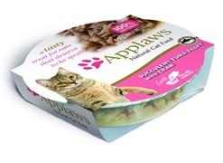 """Applaws консервы для кошек """"Нежное филе тунца с крабовым мясом"""""""