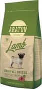Araton для щенков, с ягненком и рисом