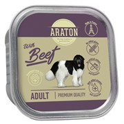 Araton Консервы безглютеновые консервы для взрослых собак, с говядиной