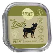 Araton Консервы безглютеновые консервы для щенков, с уткой