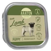 Araton Консервы безглютеновые консервы для щенков, с ягненком