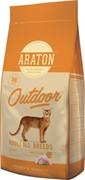 Araton для активных кошек, с курицей и индейкой 15 кг