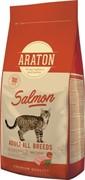 Araton для взрослых кошек, с лососем 15 кг