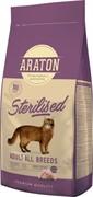Araton для стерилизованных кошек, с мясом птицы 15 кг