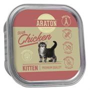 Araton Консервы безглютеновые консервы для котят, с курицей