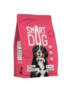 Smart Dog сухой корм для взрослых собак крупных пород, с ягненком 12 кг