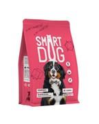 Smart Dog сухой корм для взрослых собак крупных пород, с ягненком 18 кг