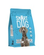 Smart Dog сухой корм для взрослых собак, с лососем и рисом 18 кг