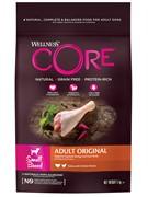 Wellness Core WELLNESS CORE Сухой беззерновой корм для собак мелких пород с индейкой и курицейOriginal