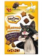 Мнямс Мясной карнавал для кошек (утка, индейка, курица) 50 г