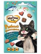 Мнямс Рыбный фестиваль для кошек (лосось, креветки, форель) 50 г