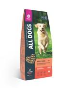All Dogs корм сухой для взрослых собак с говядиной и овощами 20 кг