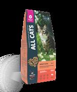 All Cats корм сухой для взрослых кошек с говядиной и овощами 13 кг