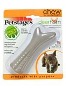 Petstages игрушка для собак Deerhorn, с оленьими рогами
