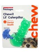 """Petstages игрушка для собак Mini """"ОРКА гусеница"""" 12 см"""