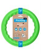 PitchDog 30  Игровое кольцо для аппортировки d 28 зеленое