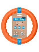 PitchDog  Игровое кольцо для аппортировки d 28 оранжевое