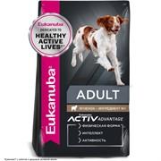 Eukanuba Dog корм для взрослых собак всех пород ягненок