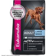 EUKANUBA Для взрослых собак крупных пород с курицей и рисом (Adult Large breed) 15 кг