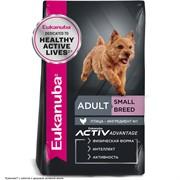 Eukanuba Dog корм для взрослых собак мелких пород  15 кг