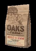 OAK'S FARM корм для кошек, сельдь 18 кг