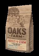 OAK'S FARM корм для кошек, белая рыба 18 кг