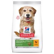 Hill's Science Plan сухой корм Senior Vitality для пожилых собак мелких пород старше 7 лет, с курицей и рисом