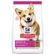 Hill's Science Plan сухой корм для собак мелких и миниатюрных пород, ягненок с рисом