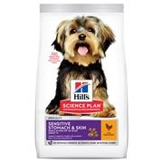 Hills SP Canine Adult Small & Miniature Sensitive Stomach & Skin with Chicken для собак мелких и миниатюрных пород с чувствительной кожей и желудком